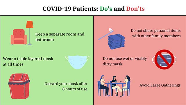Covid-19 Do's & Dont's